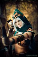 No one escapes my aim - Ashe - League of Legends by ferpsf