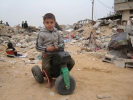 Playing in Gaza by ademmm
