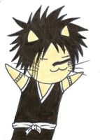 Kitty Cat Shuuhei by Stephy-McFly