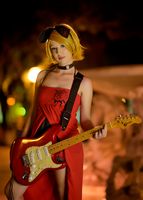 Vocaloid cosplay: Rin Kagamine from Worst Carnival by Adurnah