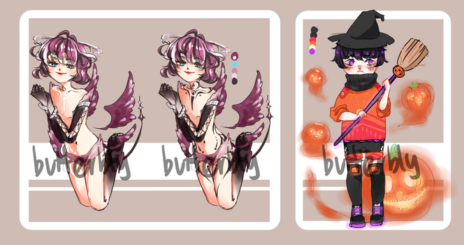 {Halloween adopts}{open} by butterbly