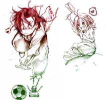 Soccer Kids: Part 1 by saiyukiluver