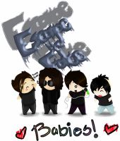 Escape the Fate Babies by Echidna-kid