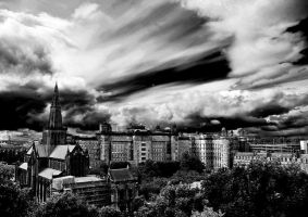 Glasgow City Scape by ensonick