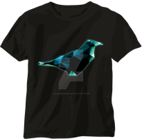 Crow T-shirt by Shadowisper