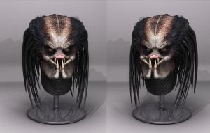 Predator - Headsculpt Render by FoxHound1984