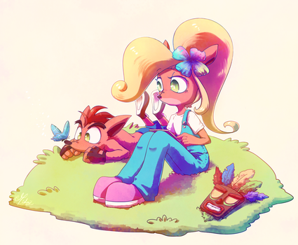 Bandicoots by Umishaii