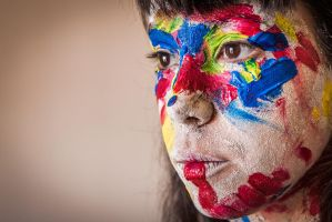 Paint face by Dagablanca