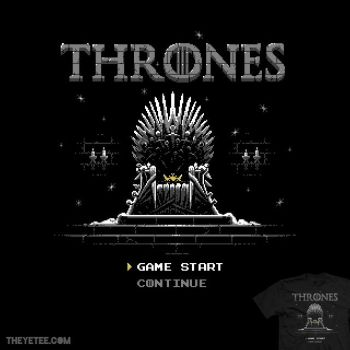 That Thrones Game - tee by InfinityWave