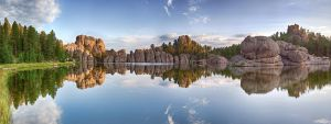 Sylvan Lake Pano by dkwynia