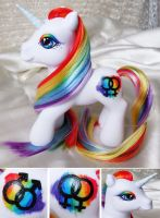 Pride Pony by MLPMeadows