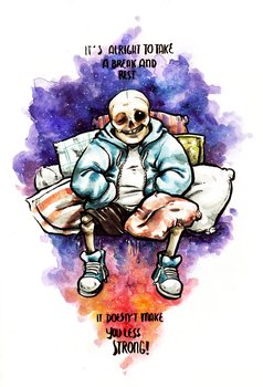 Sans still strong (gift) by Lost-Opium