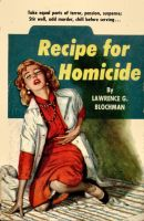 RECIPE FOR HOMICIDE cover art by peterpulp