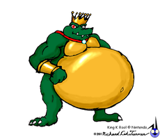 King K rool by NightCrestComics