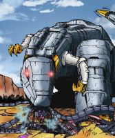 Me Grimlock Hungry by Clu-art