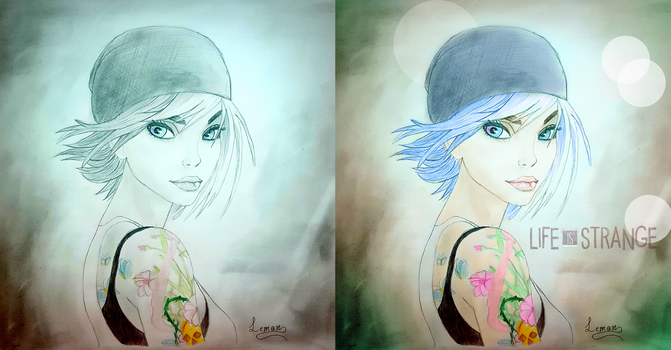 Chloe- Traditional and Digitaly Coloured by Lim0na