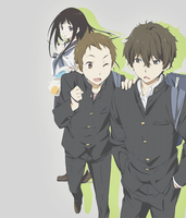 Hyouka Group Tag (animated gif) by Sacredlith