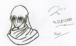 Xar Avatar Sketch by Draxen