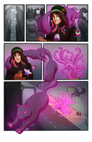 SCAD Challenge Comic: Pg 2 by Magistelle
