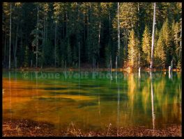 Blue Lake 001 by LoneWolfPhotography