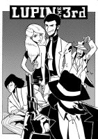 Lupin the 3rd by ElisaFerrari
