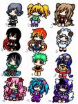 Chibis for Adopt 2 (open) by TaSaMaBi