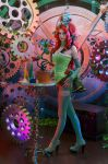 Poison Ivy in Mechanic World by Kifir