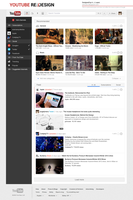 New YouTube Redesign: Project Apollo by Febernovo
