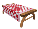 Picnic table by Pyritie