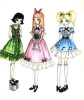 Teen Loli Power Puff Fun Time by chocolatehomicide