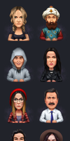 Avatars by Icondesire