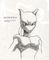Mewtwo by Xale