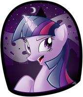 Twilight Sparkle Portrait by Tobibrocki