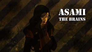 A Team - Asami wallpaper by yourparodies