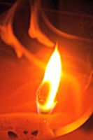 Candle's Flame by psimpson1