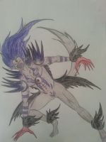 Chaos Warlord : Antonio Blackheart Chaos form by Jade-Queen-Of-Souls