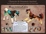 Character Auction - Halcyone and Ceyx - Open! by soulofwinter