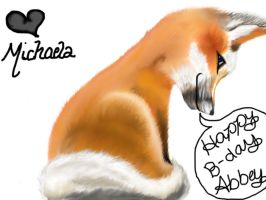 A Fox for Abbey M. by theexpressivepeople