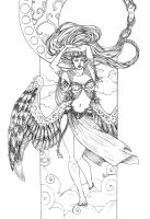 Dance of the Moon Redux: Linework by Gypsy-Rae