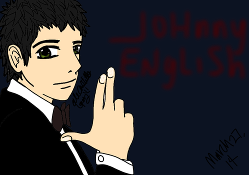 Jhonny English by moriisenpai