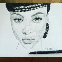 Tyra Banks by Chartreusean