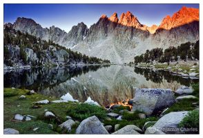 Kearsarge Pinnacles by benjamin-charles