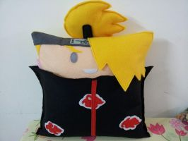 Handmade Anime Naruto Deidara Fan Art Plush Pillow by RbitencourtUSA