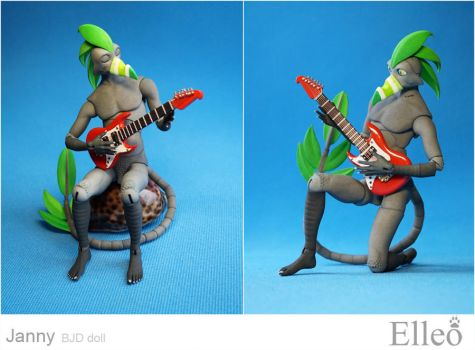 Janny exclusive bjd doll 07 by leo3dmodels