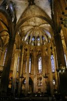 Barcelona Cathedral by francis1ari