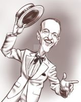 Fred Astaire in white by adavis57