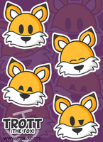 Trott - Faces by JinxBunny