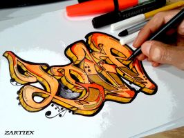 Graffiti de Amor - Graffiti Art - Graffiti Love HD by Zartiex