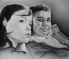 Cute moment on drawing by carlos-sousa-13