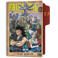 fairy Tail Tome 13 Folder by sostomate9